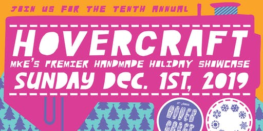 SKIP THE LINE!  Hover Craft, a holiday shopping extravaganza