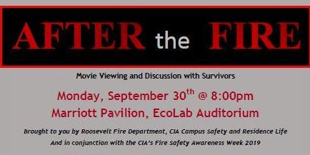 """""""After the Fire"""" Film & Discussion with Survivors"""