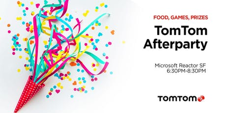 TomTom Tech Crunch Afterparty tickets