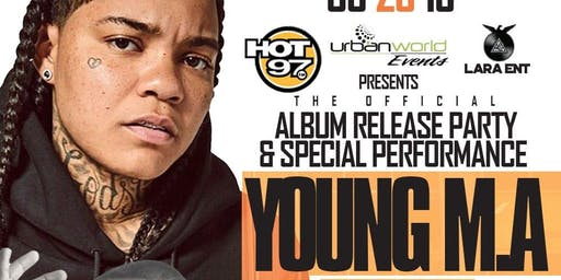 Young MA Album Release Party With DJ Camilo At Stereo Garden