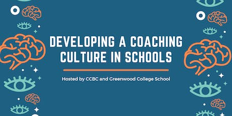 Developing a Coaching Culture in Schools - Webinar Series tickets
