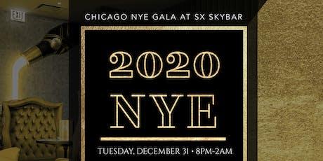 Chicago NYE Gala at SX Sky Bar tickets