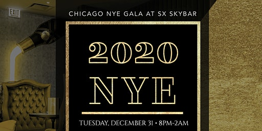 Chicago NYE Gala at SX Sky Bar