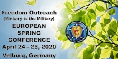 Freedom Outreach MTTM - European Spring Retreat 2020