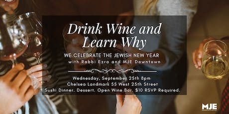 Drink Wine and Learn Why with Downtown MJE tickets