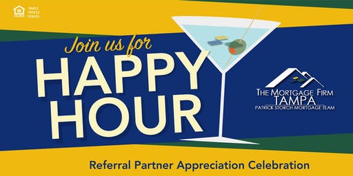 Mark Adwell -The Mortgage Firm Referral Partner Appreciation Happy Hour
