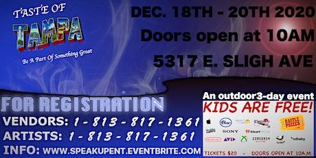 Taste Of Tampa Trade Show (December) tickets