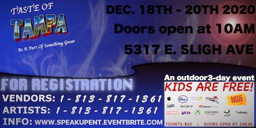 Taste Of Tampa Trade Show (December)