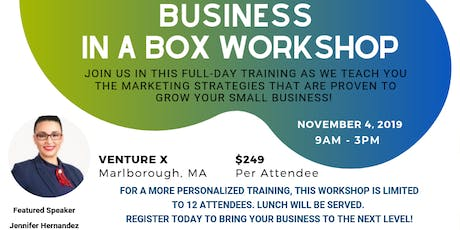 Business in a Box Workshop tickets