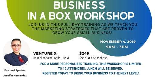 Business in a Box Workshop