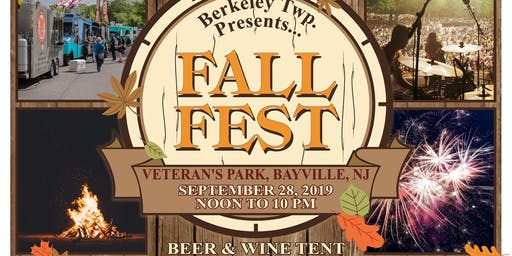 Berkeley Township Fall Fest Day with Food Trucks & Fire Pits