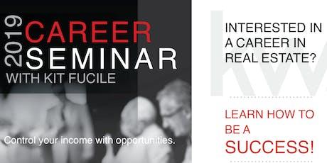 Real Estate Career Seminar - October 26th tickets