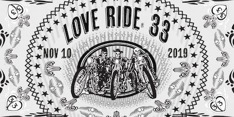 LoveRide® 33 tickets