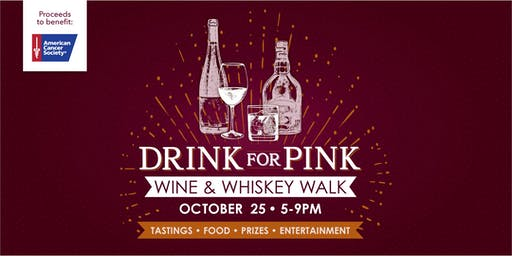 Village At Stone Oak DRINK FOR PINK Wine + Whiskey Walk