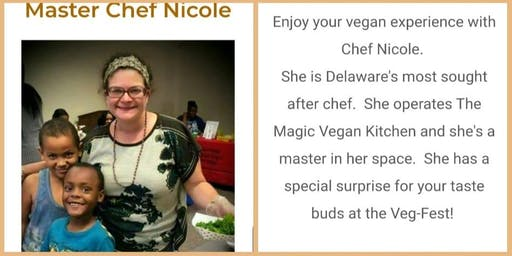 Free Cooking Demo at Delaware VegFest!