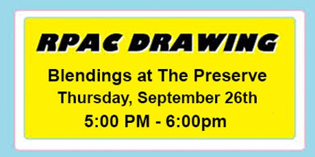 RPAC Final Drawing - September 26 tickets