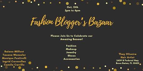 Fashion Blogger's Bazaar tickets