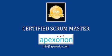 CSM (Certified Scrum Master) - Jan 16-17, Dublin, CA tickets