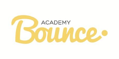 Bounce Academy Senior Camp- September 2019 tickets