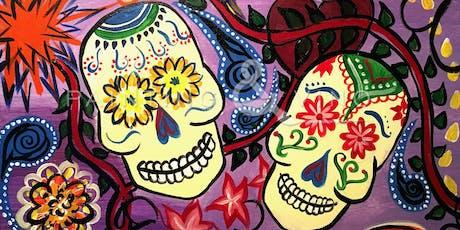 """""""Sugar Skulls"""" Painting & Vino Event tickets"""