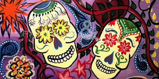 """Sugar Skulls"" Painting & Vino Event"
