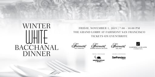 Winter White Bacchanal Dinner