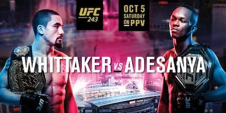 Whittaker vs Adesanya :: RTB Fight Night tickets