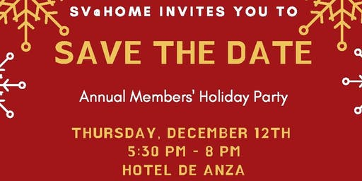 SV@Home Member Holiday Party 2019