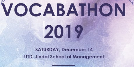 Vocabathon 2019 tickets