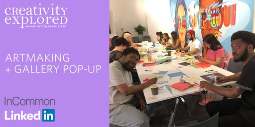 Artmaking & Gallery Pop-up at LinkedIn