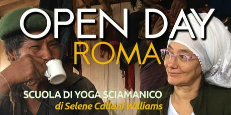 OPEN DAY Scuola di Yoga Sciamanico ROMA tickets
