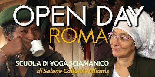 OPEN DAY Scuola di Yoga Sciamanico ROMA