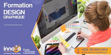 Formation en Design Graphique tickets