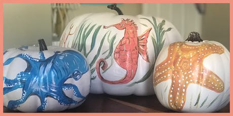 Pumpkin Painting Class with Ashley Craft tickets