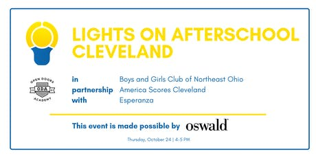 Lights on Afterschool Cleveland tickets