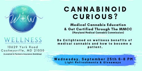 Cannabinoid Curious?  Education and Medical Sign-Up tickets