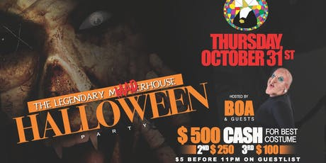 Halloween Party - At The Legendary MADhouse tickets