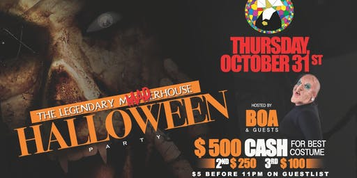 Halloween Party - At The Legendary MADhouse
