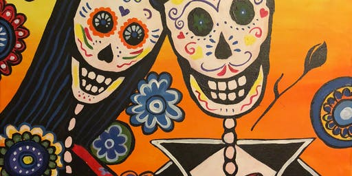 """Dia de los Muertos"" Painting & Vino Event"