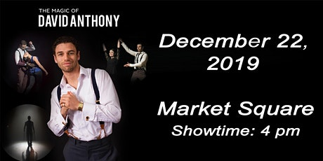 The Magic of David Anthony tickets