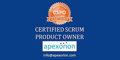 CSPO (Certified Scrum Product Owner) - Feb 29 - Mar 1, Dallas, TX