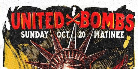 United X Bombs + Powerflex 5 + Grade 2 + Belsen Bop tickets