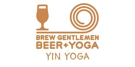 Beer + Yoga: 90 Minute Yin Yoga tickets