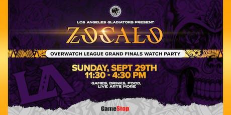 Zócalo - An LA Gladiators Grand Finals Watch Party presented by GameStop tickets