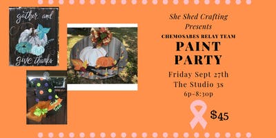 Chemosabes Paint Party