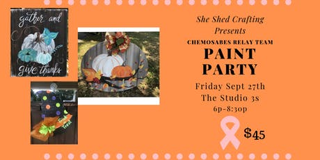 Chemosabes Paint Party tickets