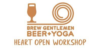 Beer + Yoga: Heart Open Workshop