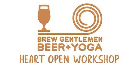 Beer + Yoga: Heart Open Workshop tickets