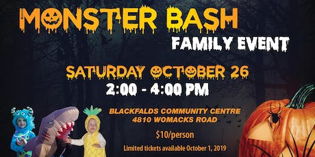 MonsterBash tickets