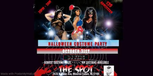 The Spot: Halloween Costume Party